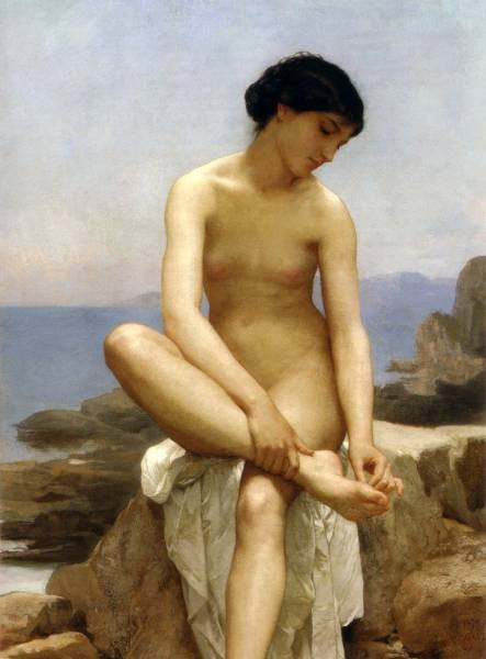 WilliamBouguereau TheBather 1879Large
